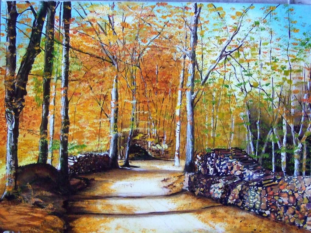 Les sous bois lafleurite for Peindre le bois